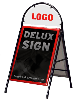 Deluxe sign